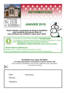 thumbnail of Bulletin Janvier 2019