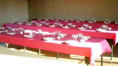 La table bien dressée