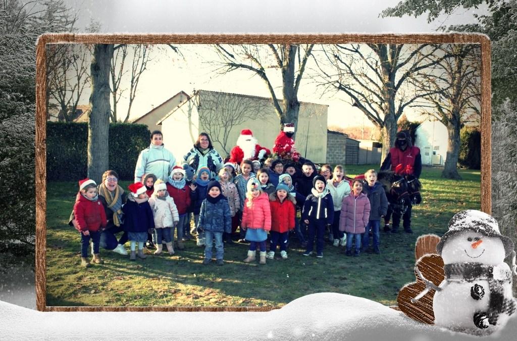 Le Père Noël est passé pour les enfants de Rueil.