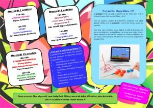 planning activités club ados merc oct 2014 verso