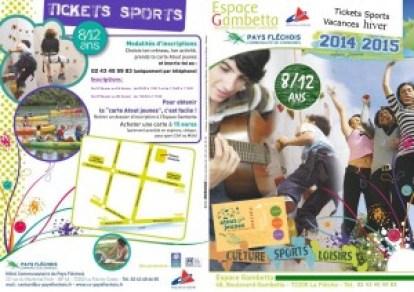 présentation tickets sports vacances de hiver
