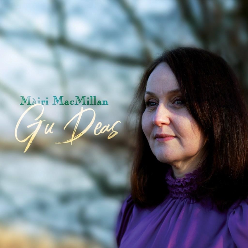 Gu Deas, Album Cover, Mairi MacMillan