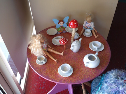 Mad Hatter's tea party?