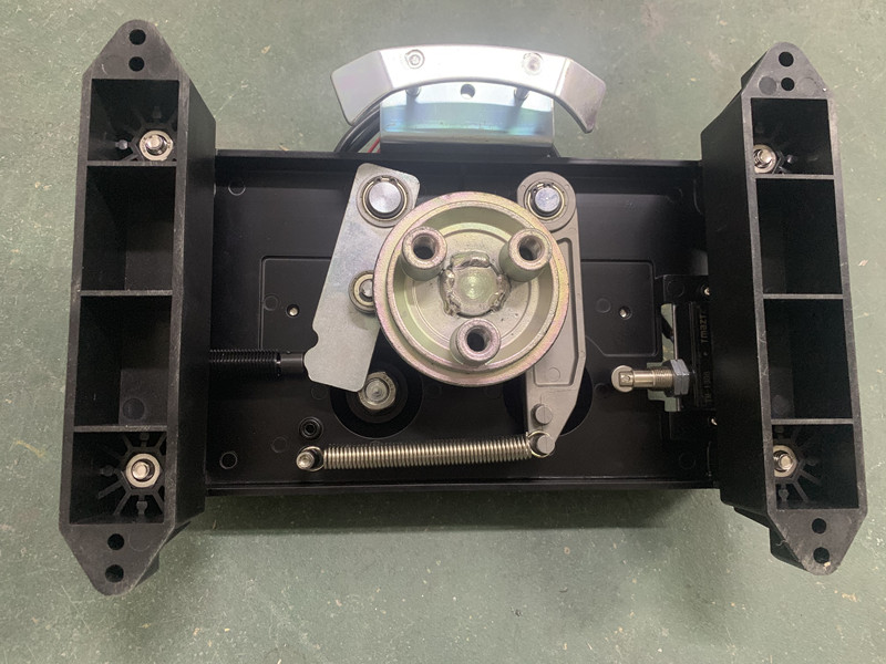 tripod turnstile gate mechanism