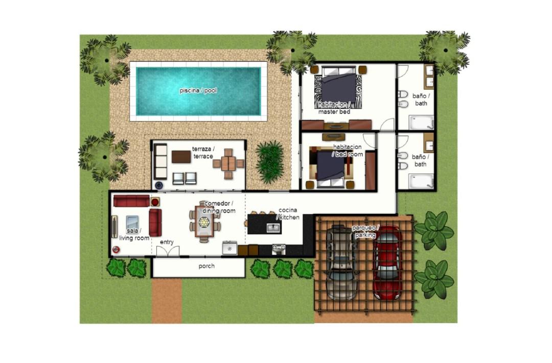 Villas Las Palmas - Tipo A (140 m²)