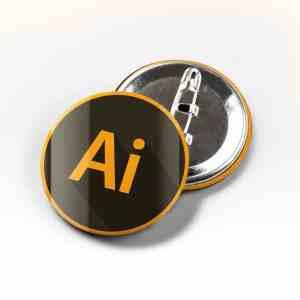 Boton AI Adobe Illustrator
