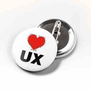 Boton I Love UX