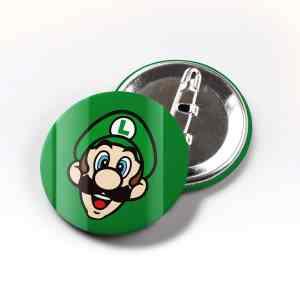 Boton Luigi Super Mario