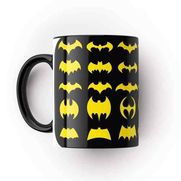 Caneca Batman Logos