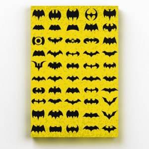 Quadro Batman Logos