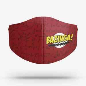 Máscara Bazinga Big Bang Theory