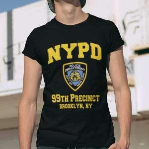 Camiseta Brooklyn 99 NYPD