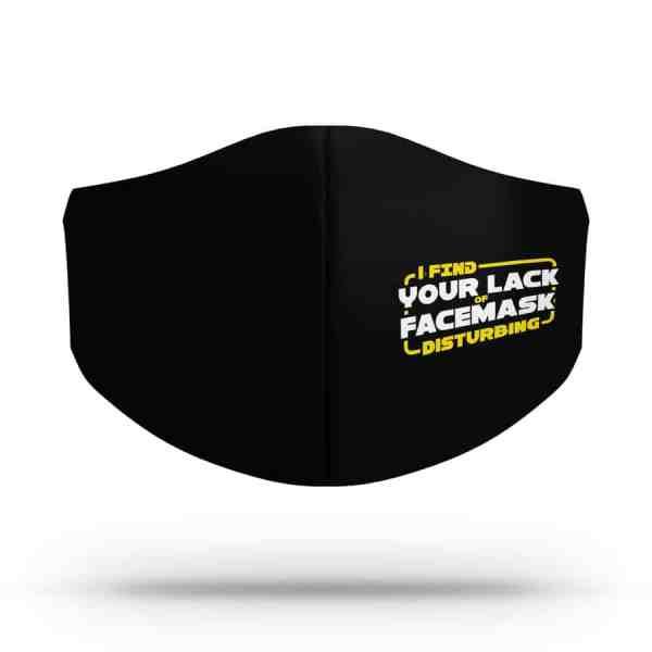 Máscara de Tecido Lack of Facemask