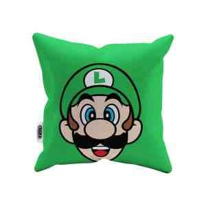 Capa de Almofada Mario Bros Luigi