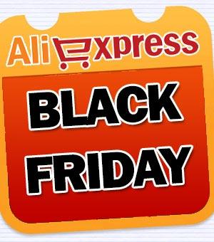 Cupões de desconto AliExpress Black Friday
