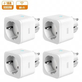 Rebaixa Amazon! Pack de 4 tomadas inteligentes por 28,99€ envio grátis