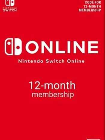 Nintendo Switch Online Membro por 1 Ano só 14,69€