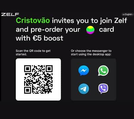 Ganha 5€ grátis com ZELF mais 5€ por cada amigo, sem necessidade de depósito!
