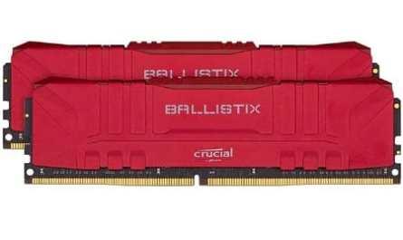 Crucial Ballistix BL2K8G30C15U4R 3000 MHz DDR4 DRAM Gamer