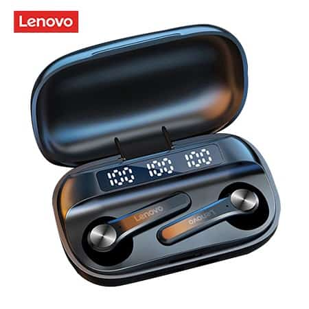 Auriculares Lenovo QT81 TWS Autonomia para 30hrs de Musica desde Espanha por 12,52€