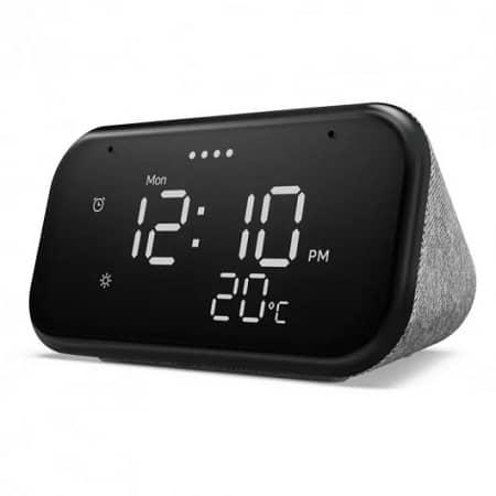 Promoção PcComponentes! Lenovo Smart Clock Essential com Assistente Google por 34,72€