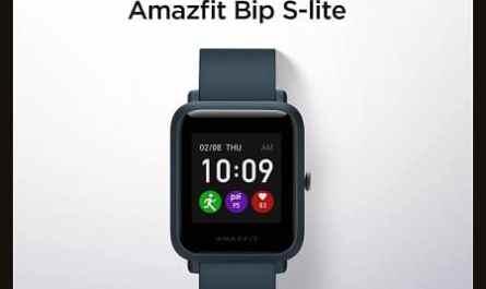 Amazfit relógio inteligente Bip S Lite Smartwatch Xiaomi
