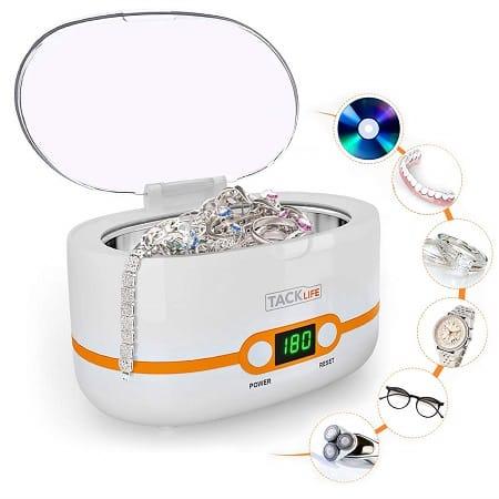 Tacklife MUC02, Maquina de Limpeza Ultrassónica de 600ml por 22,39€