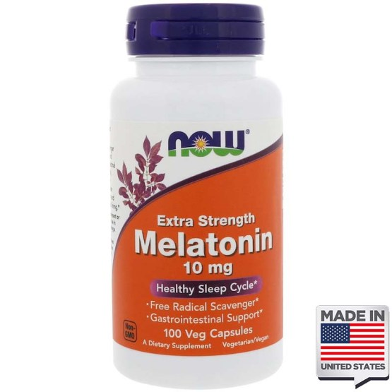 Melatonina 10mg Now