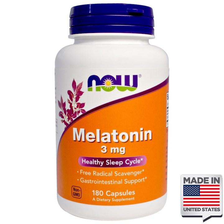 Melatonina 3mg now