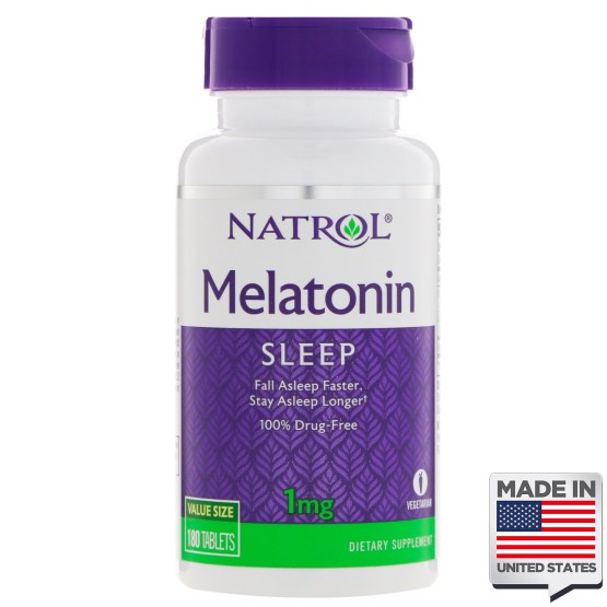 Melatonina 1mg Natrol