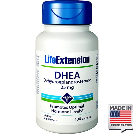 DHEA 25mg life extension