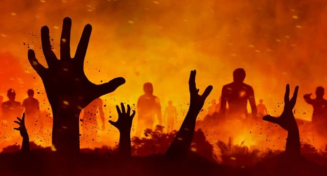 Chegando no inferno