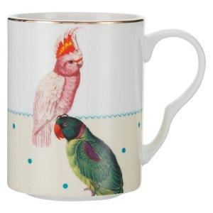 Yvonne Ellen Parrot and Cockatoo Mug