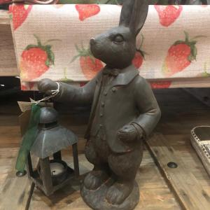 Mr Rabbit & Lantern Candle Holder