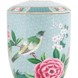 Blushing Birds Storage Jar