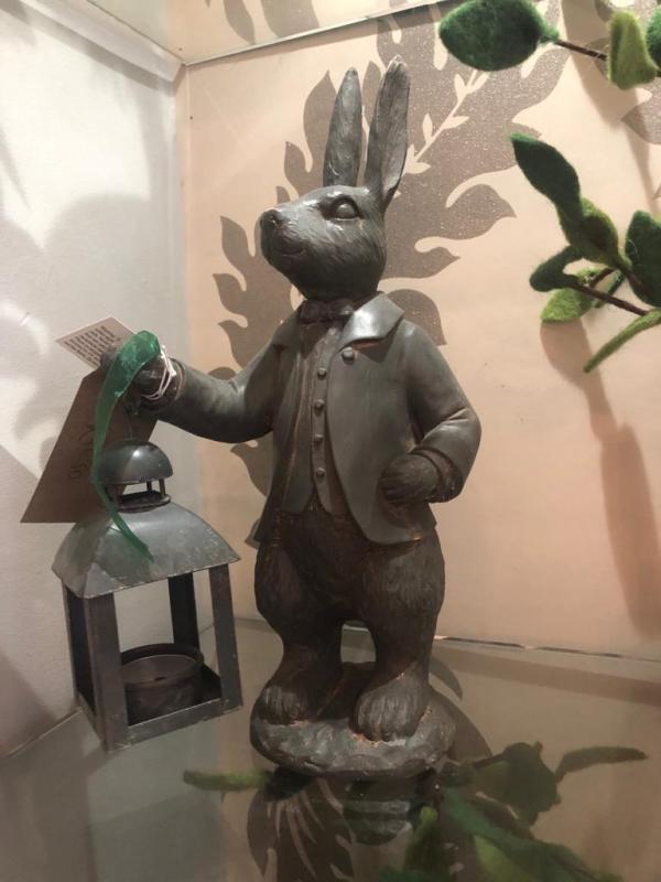 Mr Rabbit & Lantern Candle Holder
