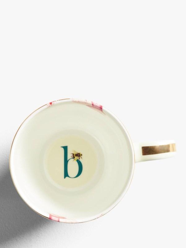 Yvonne Ellen Alphabet Mugs - B Inner
