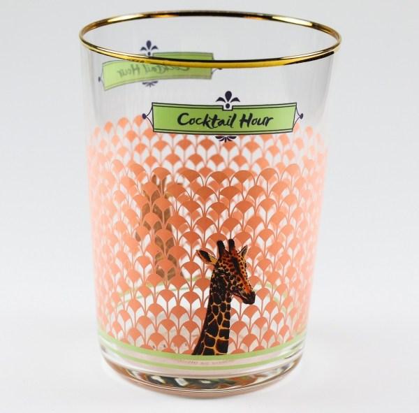 Yvonne Ellen Hi Ball Glasses - Giraffe