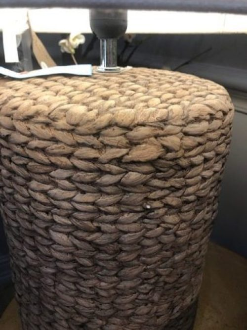 Becker Lamp With Rope Plaited Base