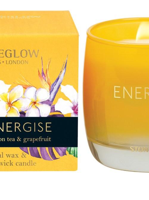 StoneGlow Infusion Energise Lemon Tea & Grapefruit Tumbler