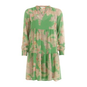 Feather Bloom Dress with frill detail