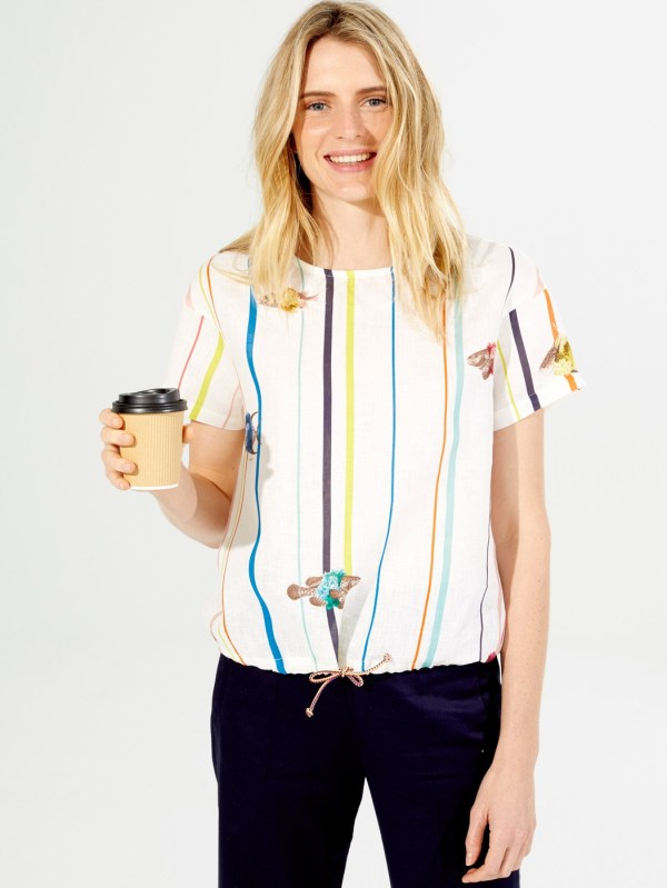Lysa Shirt Palaos Print