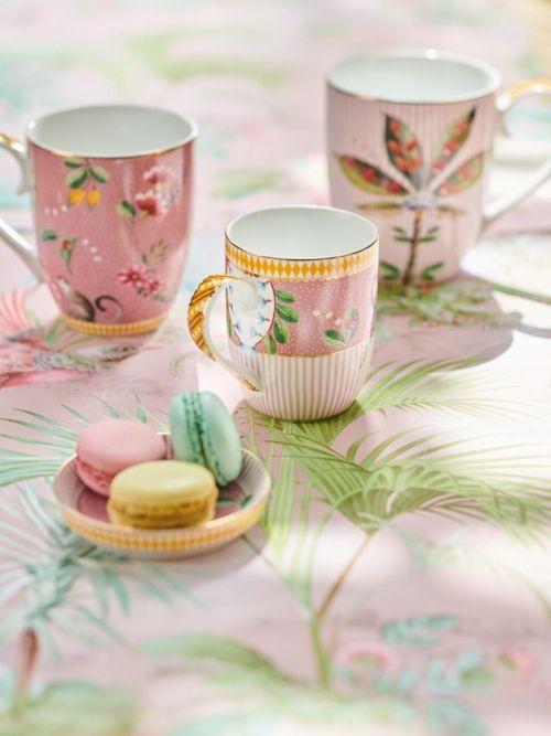 La Majorelle Mug Large in Pink