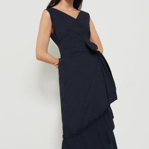 Emme Marella Navy Wrap Dress