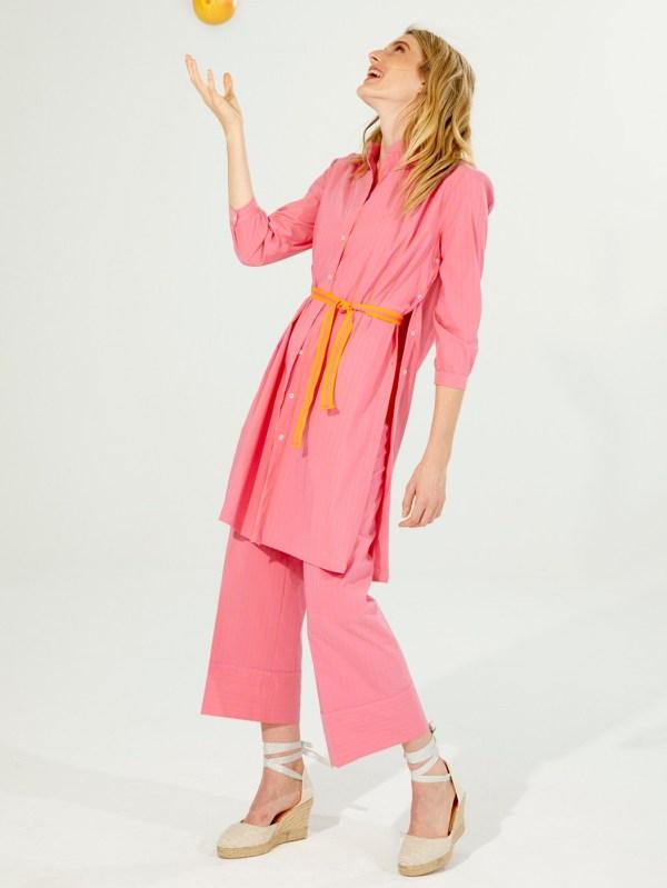 Vilagallo Sandy Surf Pink Orange Trousers