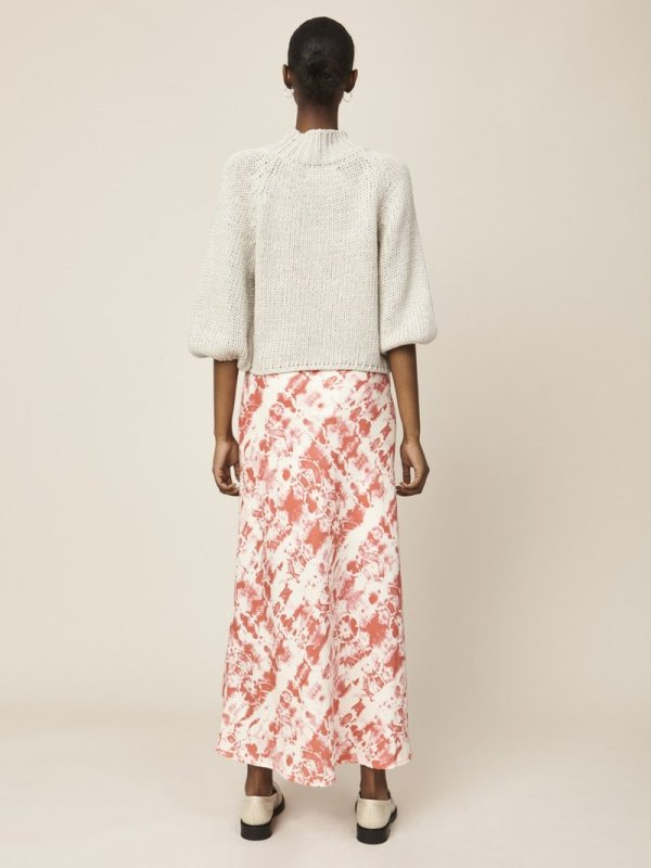 Ivy Skirt in Coral