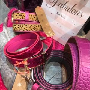 Hacienda Glitter Belt in Hot PinkHacienda Glitter Belt in Hot Pink