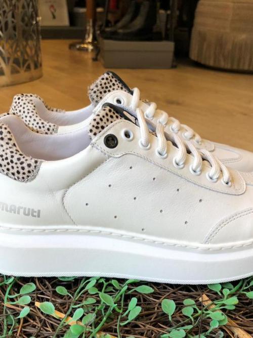 Maruti Leather White SneakersMaruti Leather White Sneakers