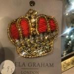 Gisela Graham Crown Brooch