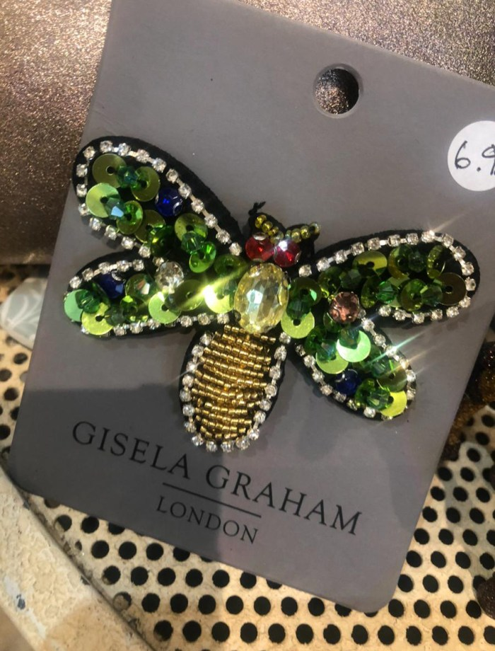 Gisela Graham Dragonfly Brooch